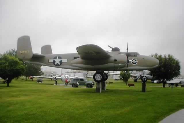 B-25J at the Malstrom Air Force Base, Montana